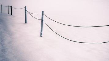 Snow and iron