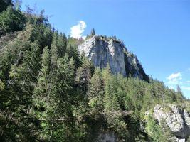 Crags near Zakopane, Poland