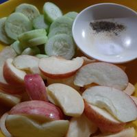 Apples and Cucumber