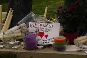 Brighton kemptown shrine for the 51