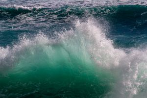 Waves are most commonly caused by wind