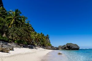 Playa Fronton, Samana