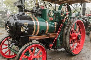 Moirin traction engine Shanes Castle