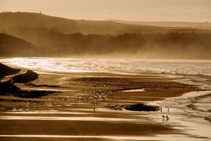 Sandsend and Whitby Surfers at Sunset
