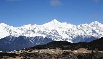 Village, Meili Snow Mountains