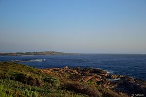 Lighthouse in the distance