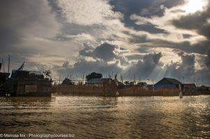 Tonle sap floating villages