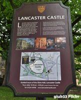 Sign, Lancaster Castle