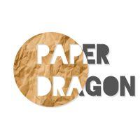 Paper dragon logo