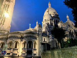 Basilique du sacré-coeur - Night
