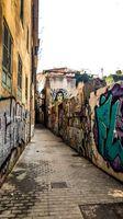 Colourful Malaga Streets