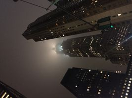 New York City - Empire State Building - Fog