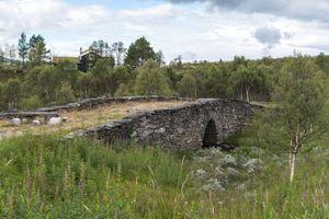 Very old stone bridge