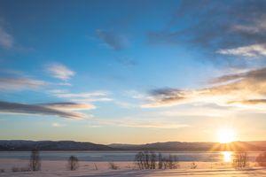 Sunny day in Alta