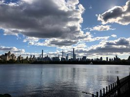 CENTRAL PARK WITH IMPRESSIVE SKY VIEW