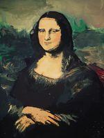 Josh Martin Paints The Mona Lisa