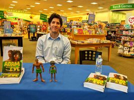 Josh Martin Signs Adam and Eve Books At Barnes & Noble
