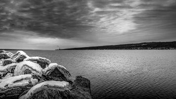 Cayuga Lake Looking North