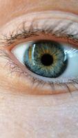 Macro blue eye - Macro occhio azzurro - MACRO