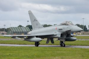 Italian Eurofighter by Clive Wells