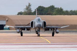 McDonnell Douglas F-4E Phantom by Clive Wells
