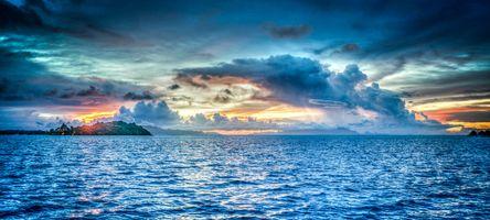 Ocean twilight