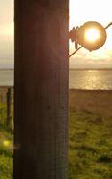 Sunrise Pole at Lake Arresoe