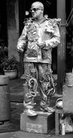 Is this the tin man? Street performer in NOLA