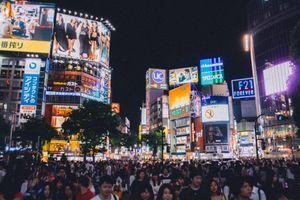 Shibuya crossing-Tokyo