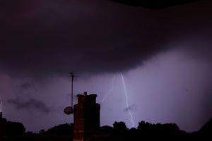 Wimborne lightning