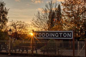 GWSR Toddington Station Platform 1, Sunset