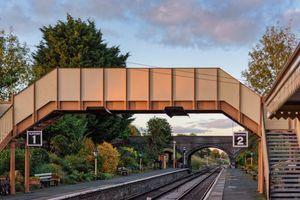GWSR Toddington Station - View Up The Line From Platform 2 - 3
