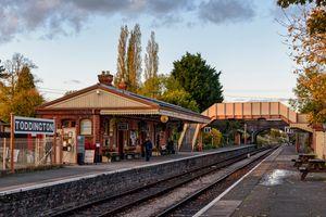 GWSR Toddington Station, Up Line From Platform 2