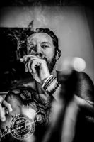 Patrick - Smoking a cigar