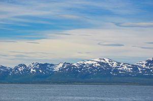 Tromso Snow mountains