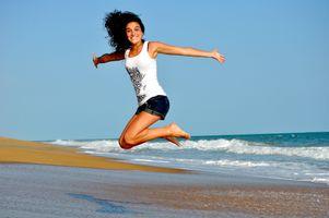 Beach-sea-sand-ocean-girl-woman