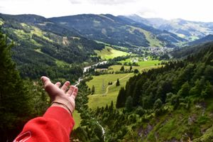 Austrian Alps.