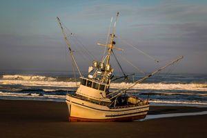 Fishing Boat Run Aground