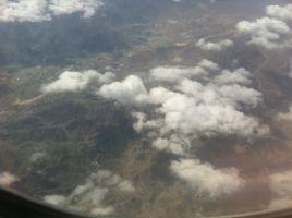 Plane Travel Arabia Sky Clouds Adventure Asia