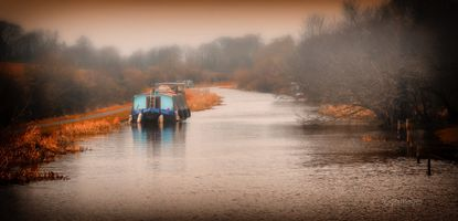 Houseboat on the Canal