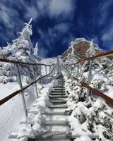 Stairway up to heaven