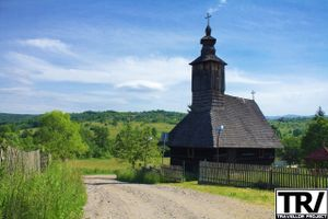 The wooden Orthodox Church