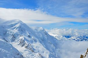 The Top of Alps Mountains