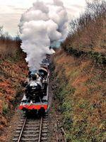 Old dock train