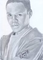 Daniel Anthony signed drawing