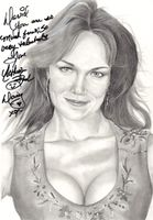 Catherine bach signed drawing