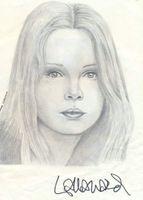 Lalla ward signed drawing