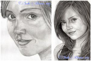 Jenna Louise Coleman - comparison