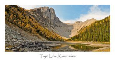 Tryst Lake Pano