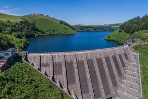 Llyn Clywedog Dam, Llanidloes